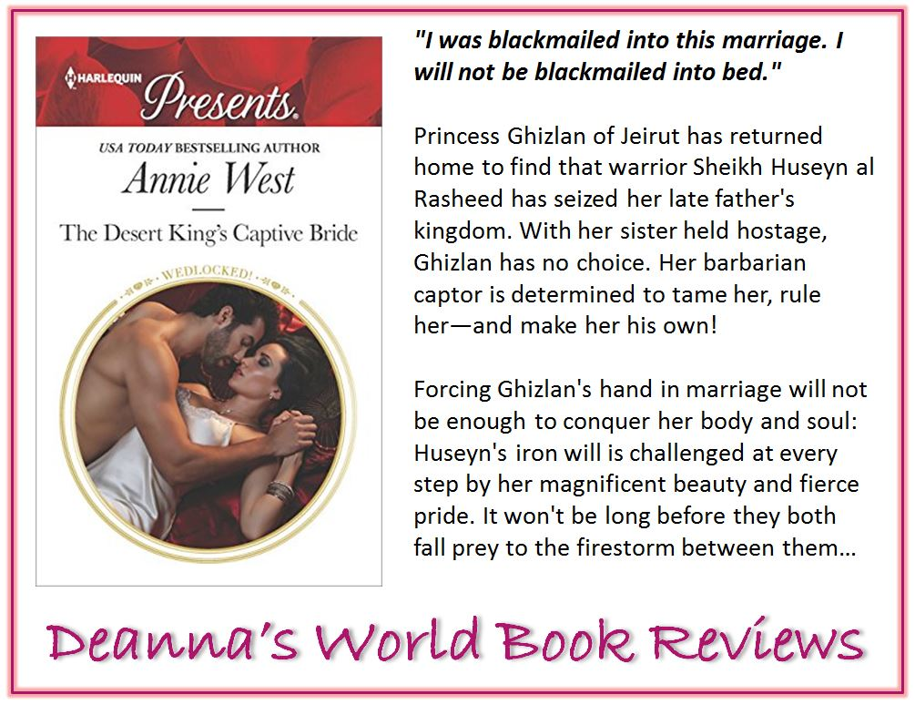 The Desert King's Captive Bride by Annie West blurb