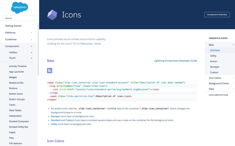 Lightning Desing: Icon Code