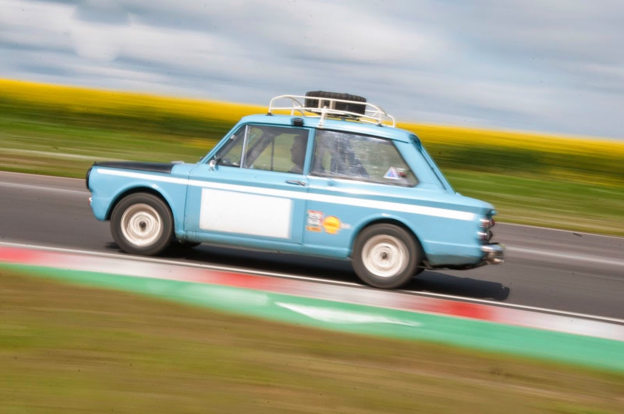 Take to the Road New Hillman Imp Works Rally Car