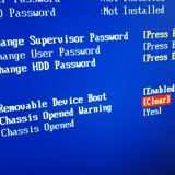 chassis opened disabled