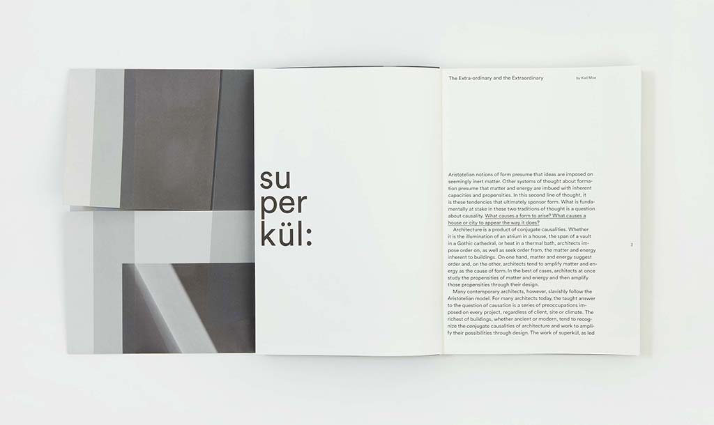 superkül releases first monograph to celebrate first ten years in practice