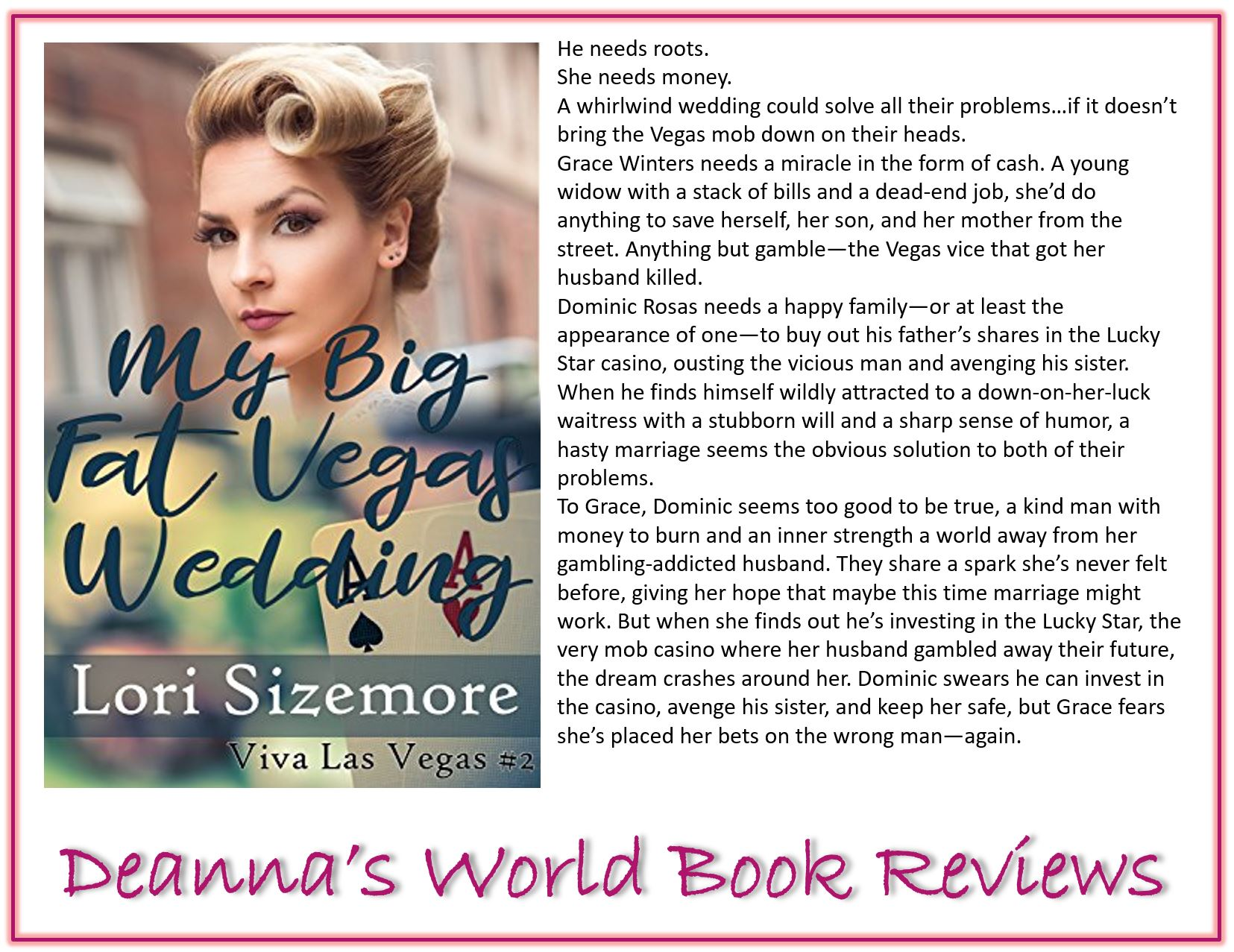 My Big Fat Vegas Wedding by Lori Sizemore blurb