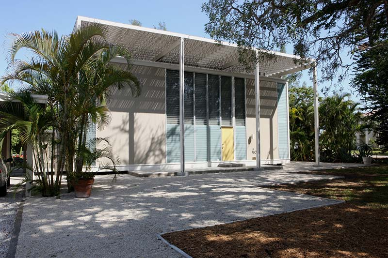 Long regarded as an architecture lovers shrine, sarasota, fla. , attracts fresh fans