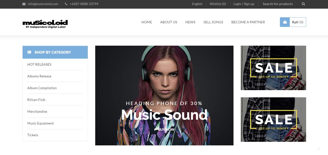 musicoloid store