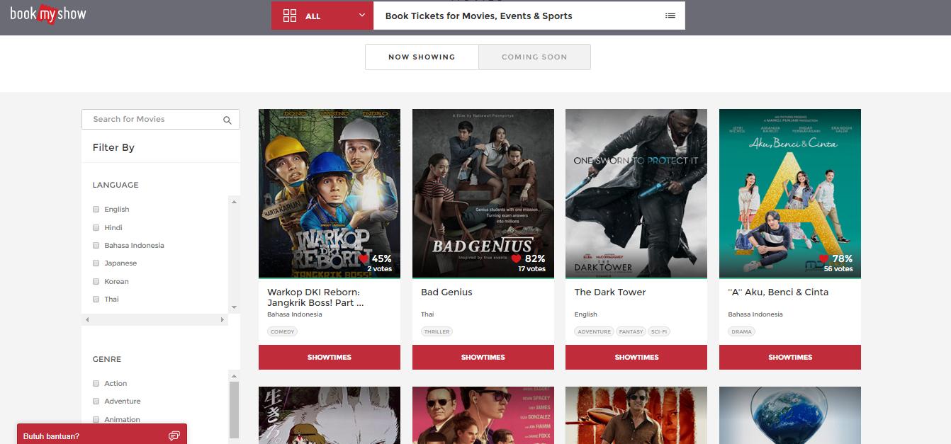 beli tiket film online