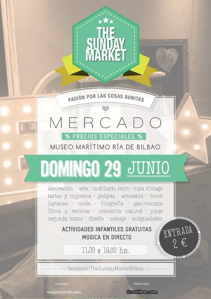 The Sunday Market Bilbao, Mercado Museo Marítimo Ría de Bilbao