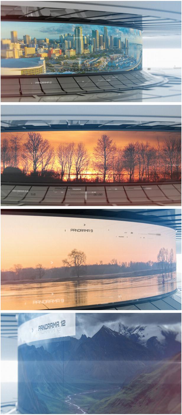 3D Panorama | Cinema 4D Template - 4
