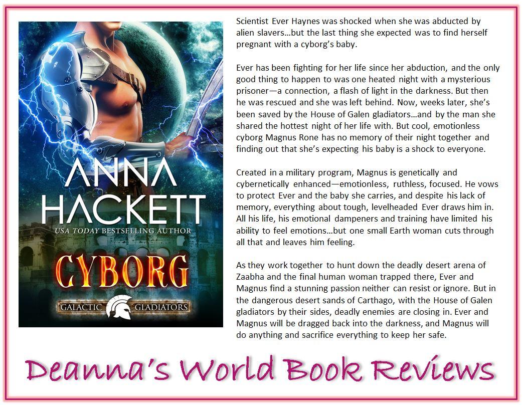 Cyborg by Anna Hackett blurb