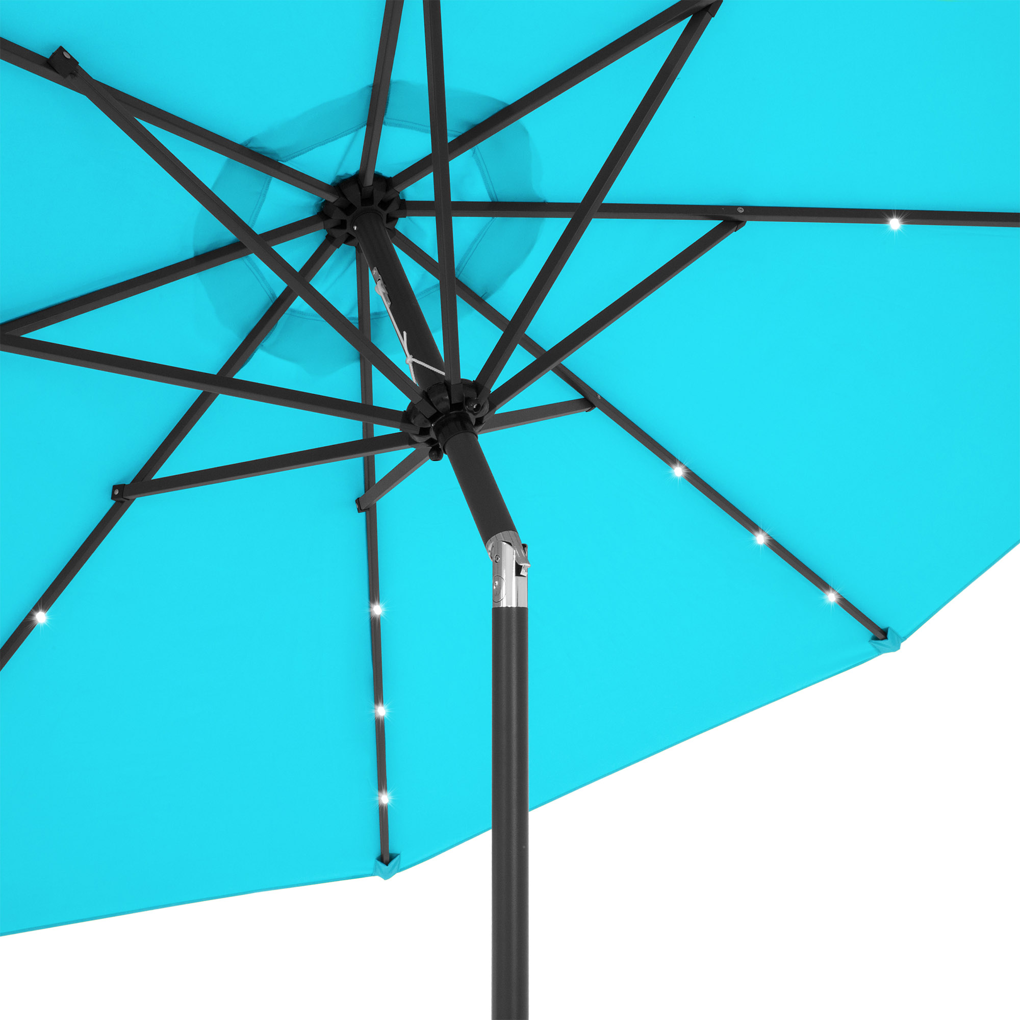 BCP-10ft-Solar-LED-Lighted-Patio-Umbrella-w-Tilt-Adjustment-Fade-Resistance thumbnail 34