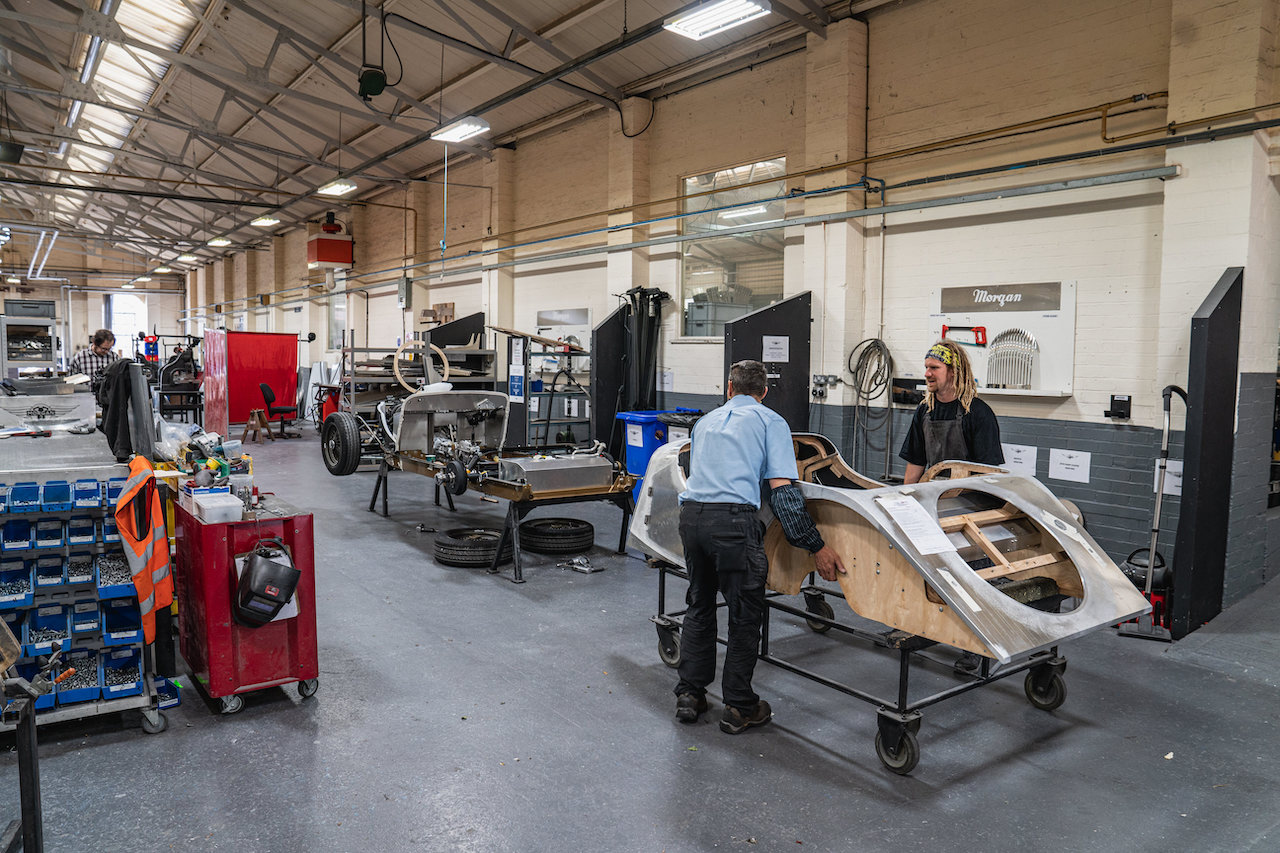 Morgan builds its last Steel Chassis car after 84 years of production