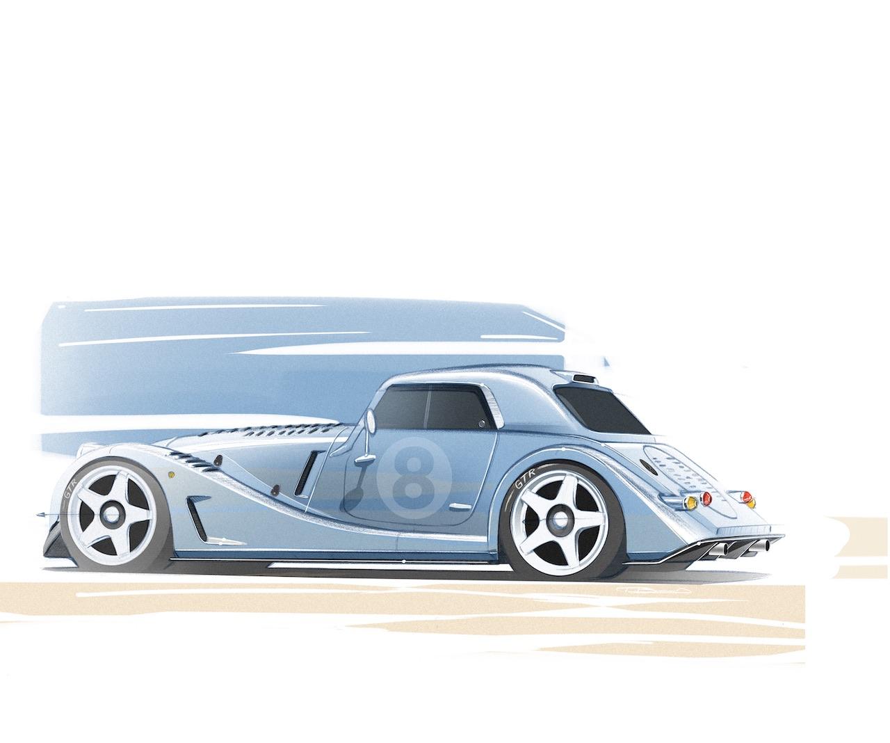 Morgan Motor Company unveils Plus 8 GTR special project