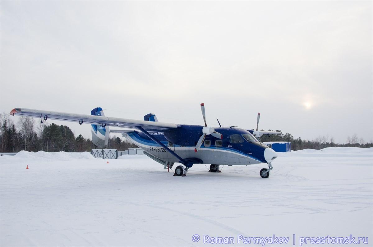 "Самолет Ан-28 Авиакомпании ""СиЛА"""