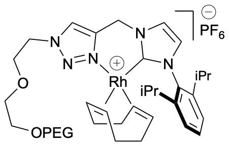 PEG-Rh complex