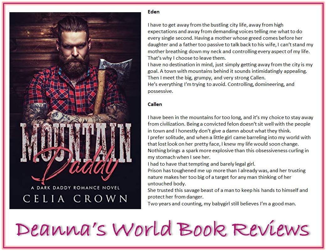 Mountain Daddy by Celia Crown blurb