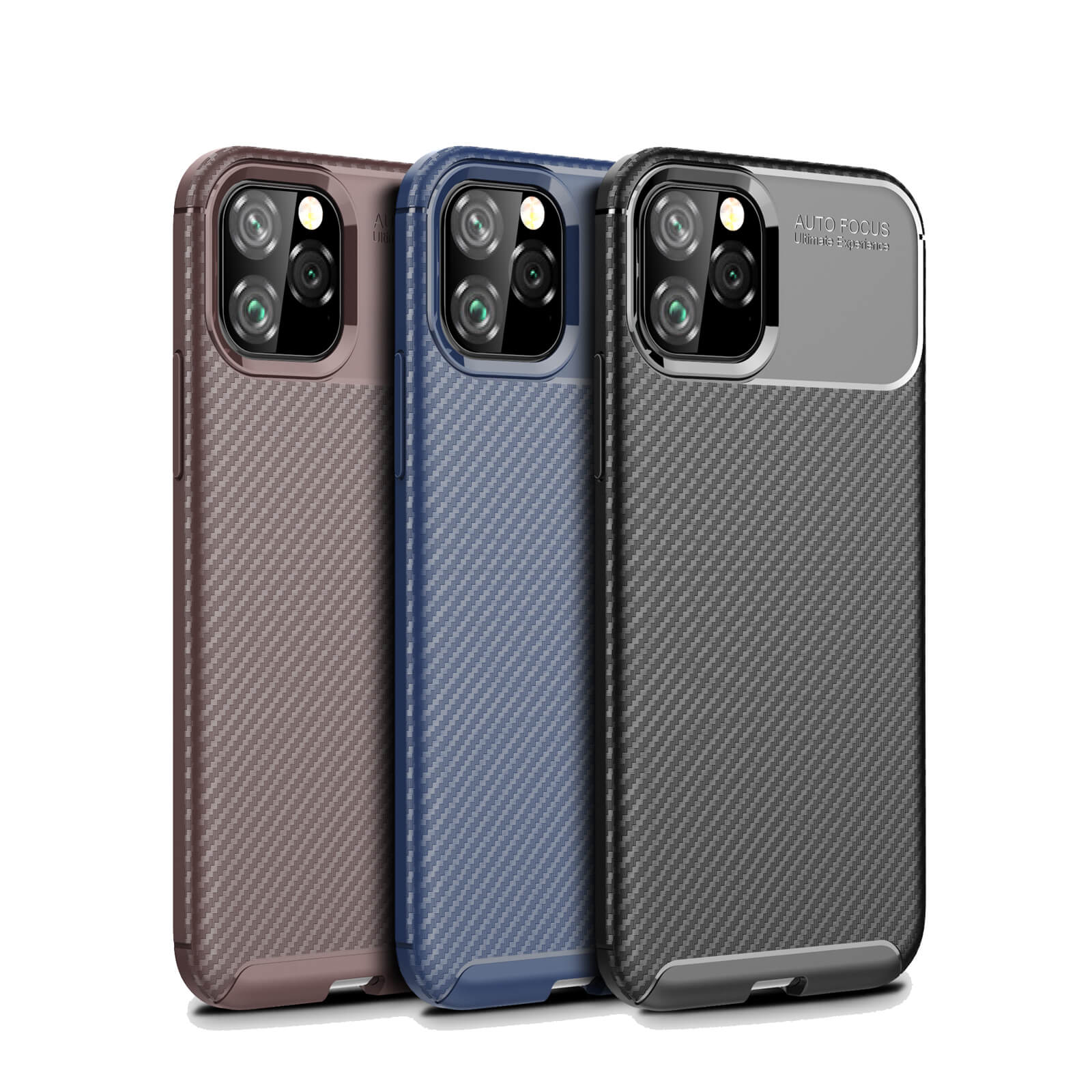 thumbnail 58 - Case for iPhone Carbon Fibre Soft Cover TPU Silicone Slim 11 X XR Max 8 7 6 Plus