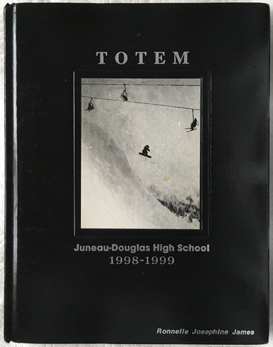 For sale: original JDHS yearbook from Juneau, Alaska.               Class of 1999.