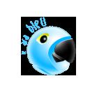 Logo le Ara Bleu
