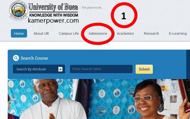 University of Buea Application Procedure Online Admission 2021-2022