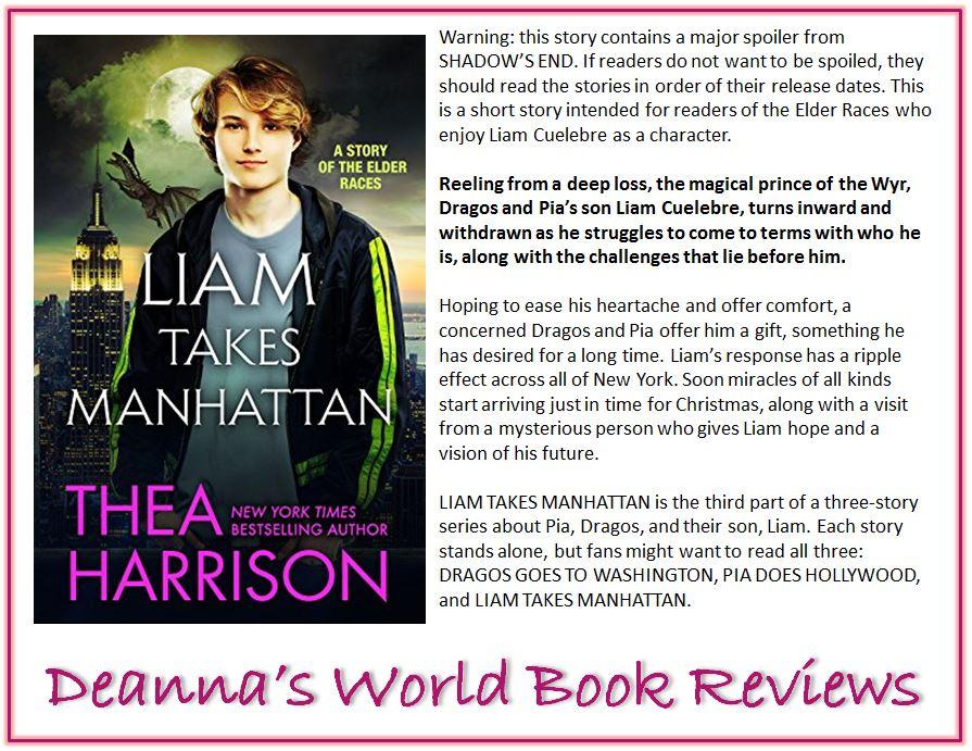 Liam Takes Manhattan by Thea Harrison blurb