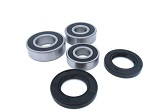 Rear Wheel Bearings and Seals Kit Kawasaki EL250 1988-1994