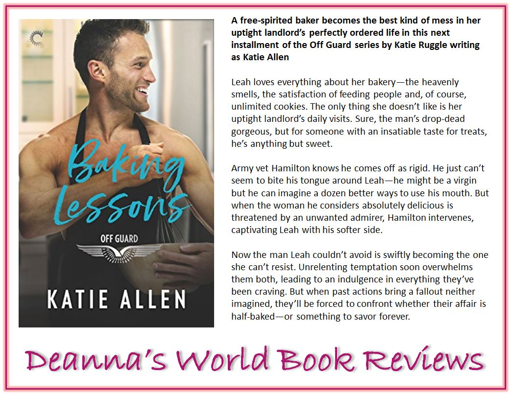 Baking Lessons by Katie Allen blurb