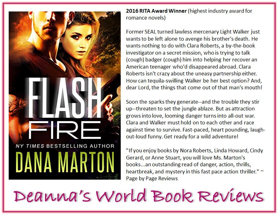 Flash Fire by Dana Marton blurb