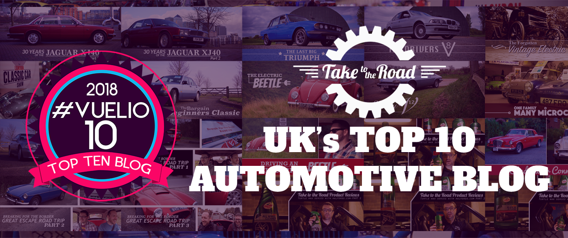 Take to the Road Vuelio Top 10 Automotive Blog