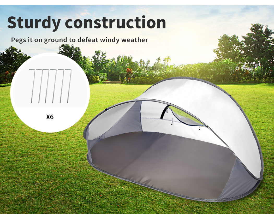 Mountvie-Pop-Up-Tent-Camping-Beach-Tents-4-Person-Portable-Hiking-Shade-Shelter thumbnail 29