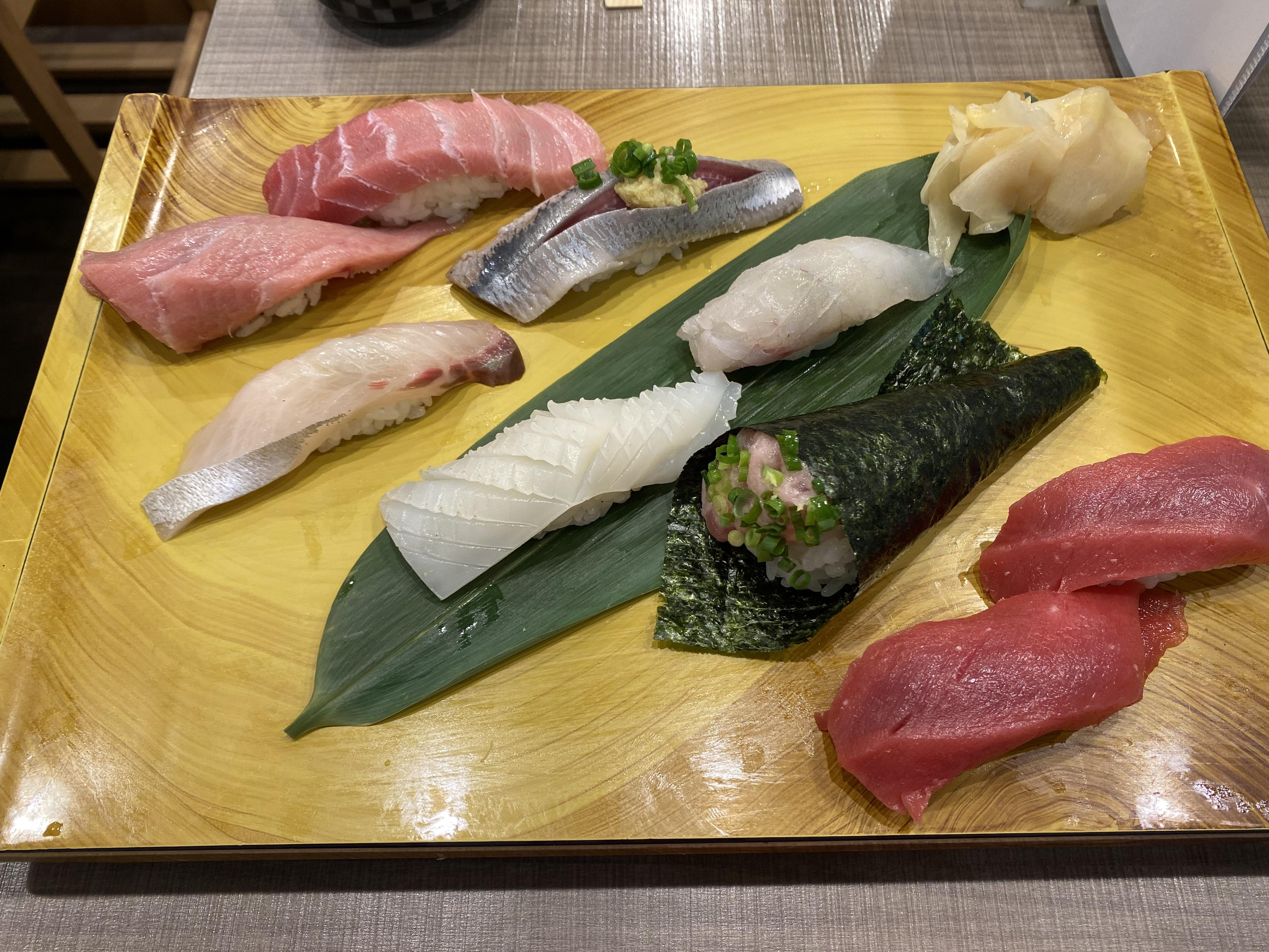 Sushi Midori random picks