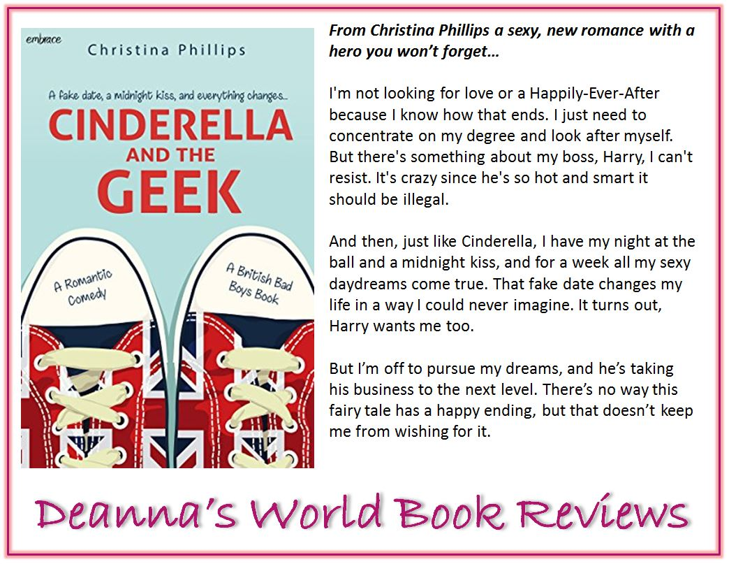 Cinderella and the Geek by Christina Phillips blurb