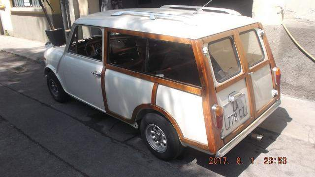 1972 INNOCENTI MINI TRAVELER WAGON