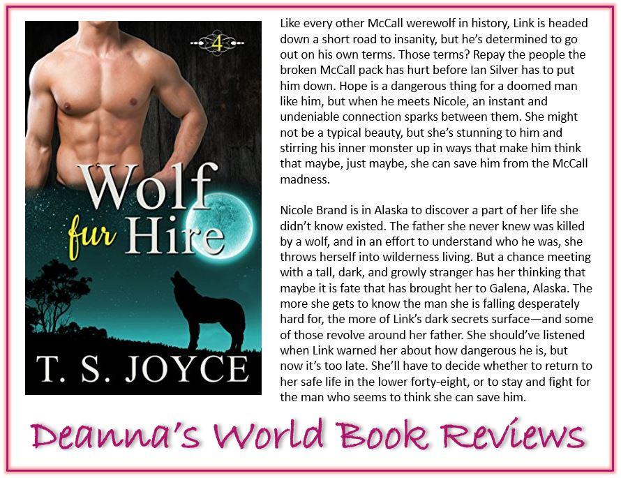 Wolf Fur Hire by TS Joyce blurb
