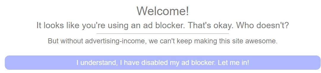 Verschiedene Web-Dienste benötigen Werbe-Anzeigen, um mit den Einnahmen die Kosten zu decken.