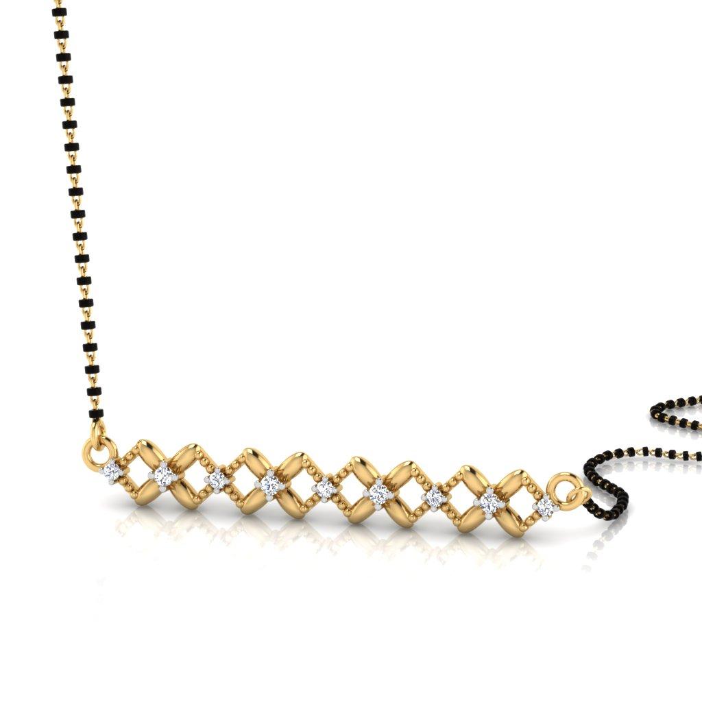 The Opulent Diamond Mangalsutra