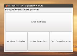 Bumblebee Configurator GUI