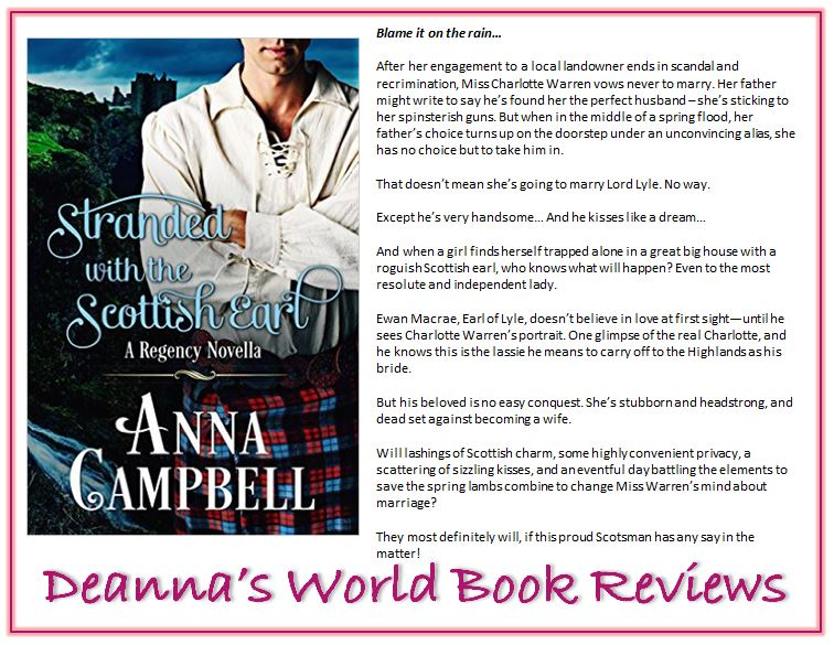 Stranded With The Scottish Earl by Anna Campbell blurb