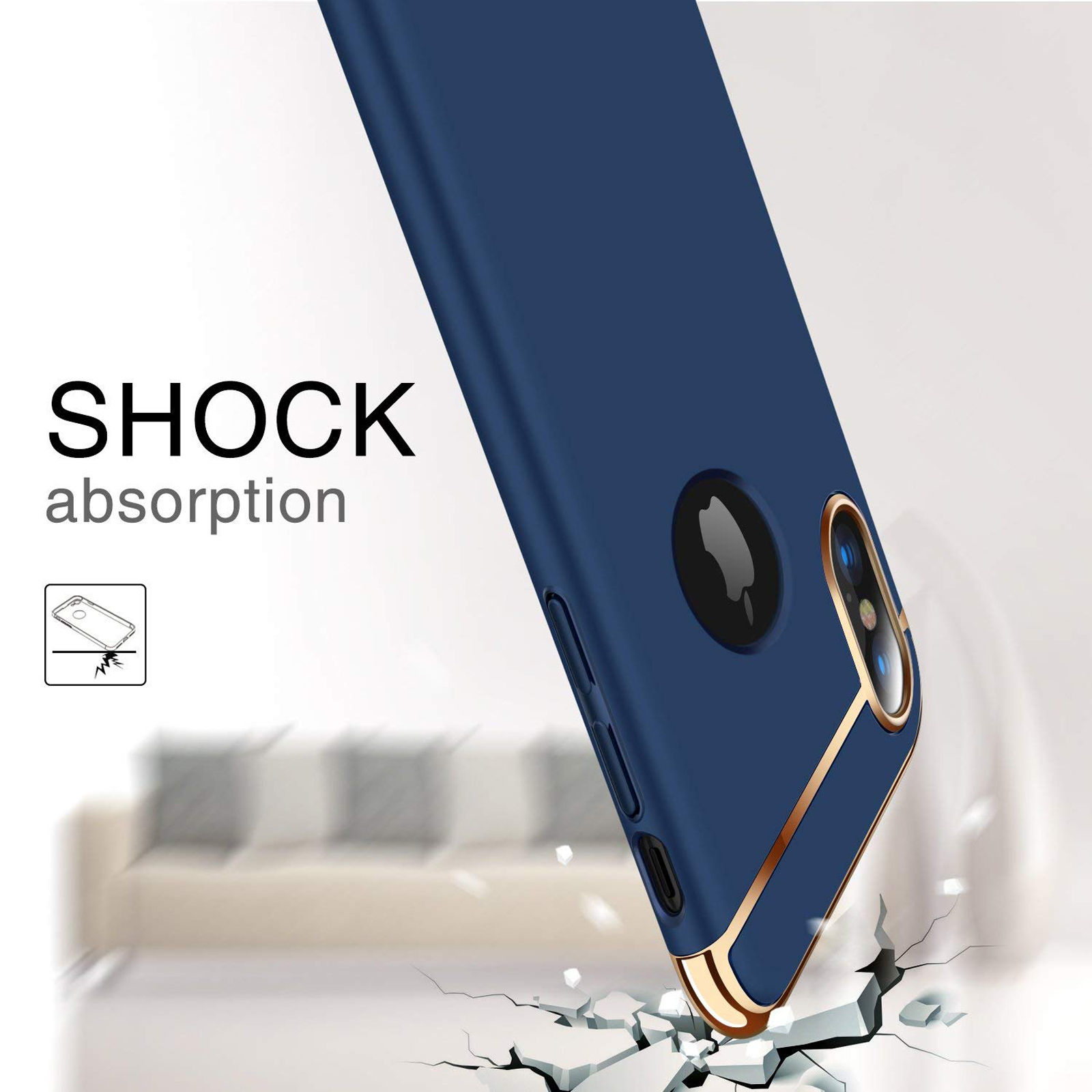 thumbnail 65 - Luxury Matte Case Tempered Glass Cover For Apple iPhone X XS XR Max 10 8 7 6s 6
