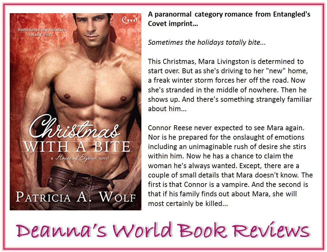 Christmas with a Bite by Patricia A Wolf blurb