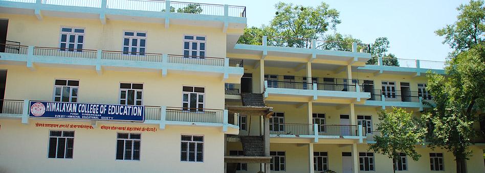 Himalayan College of Education Pungh, Mandi