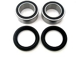 Rear Axle Bearings Seals Kit Lonestar Double Dual Twin Row Honda ATC350X 1985