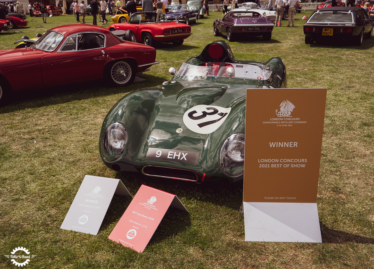 London Concours spectacular three day event a huge success