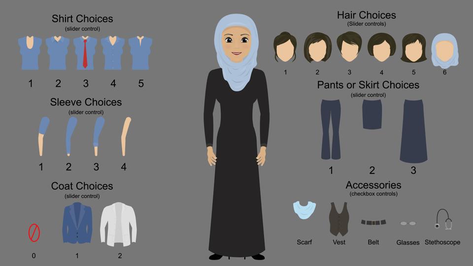 Female Character Designer