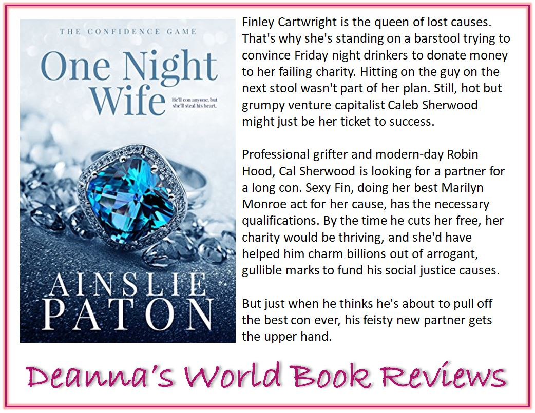 One Night Wife by Ainslie Paton blurb
