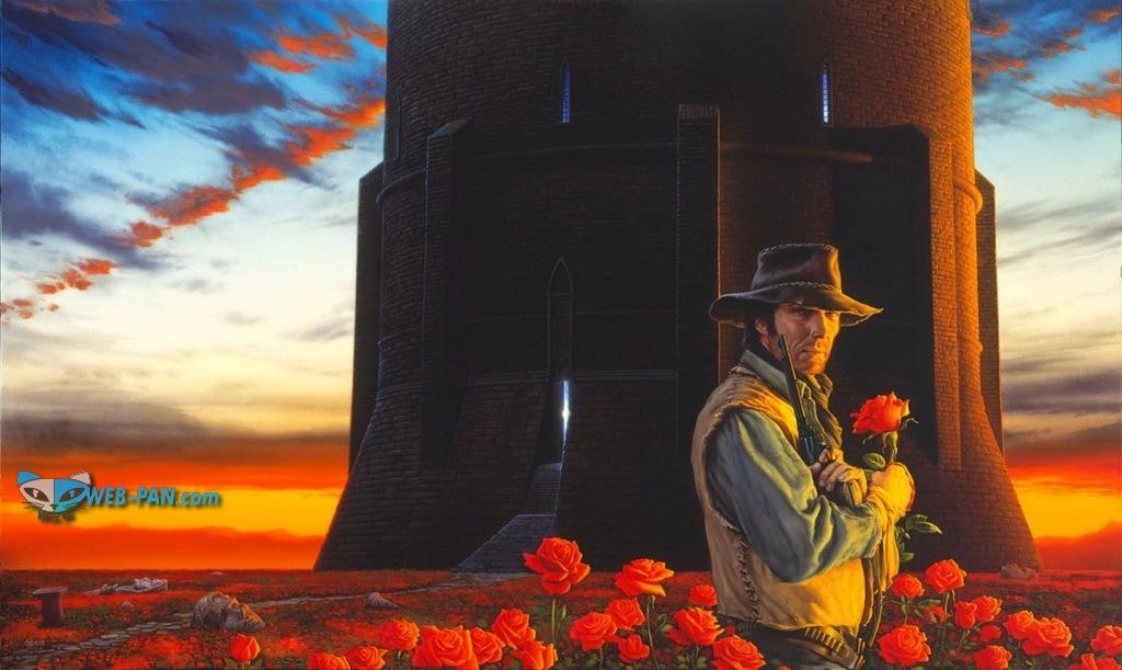 Обзор на Тёмную башню, фильм по произведению Стивена Кинга, не лучшее творение - слабо и нудно, непонятно!