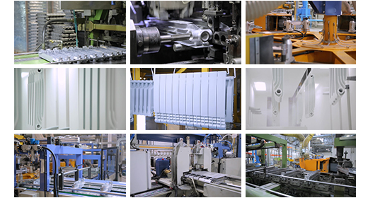Edit Manufacture Of Radiators