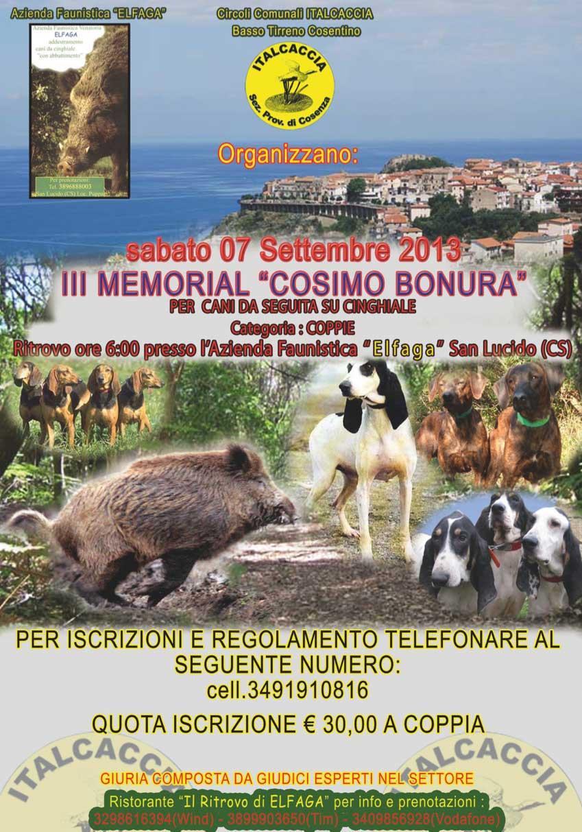 III Memorial Cosimo Bonura