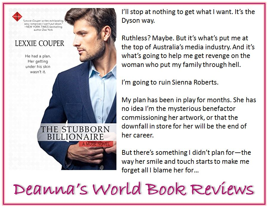 The Stubborn Billionaire by Lexxie Couper blurb
