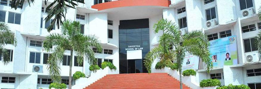 Saveetha Collge of Law, Chennai