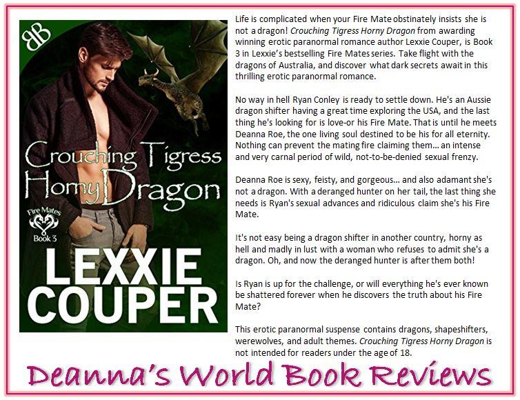 Crouching Tigress, Horny Dragon by Lexxie Couper blurb