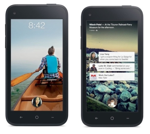 HTC First con Facebook Home